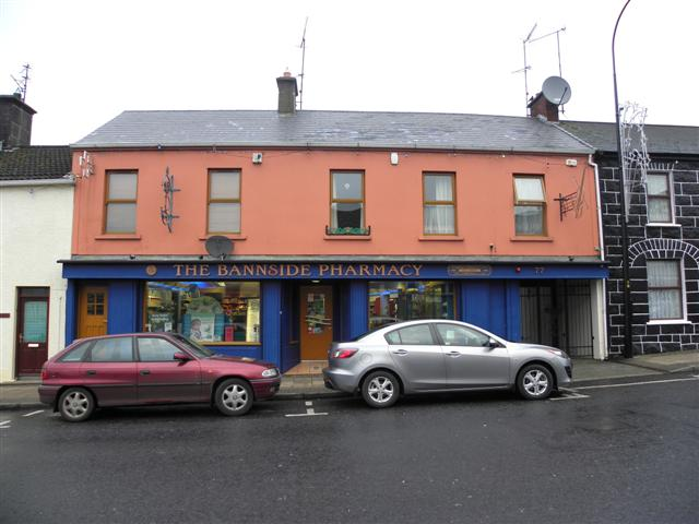 The Bannside Pharmacy, Portglenone