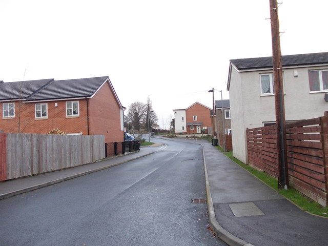 Clayhill Drive - looking towards Wilson Road