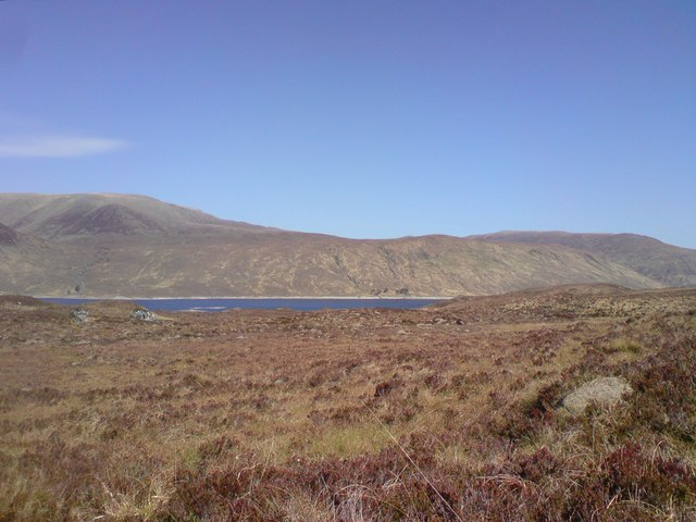 Moorland south-east of Pait Lodge