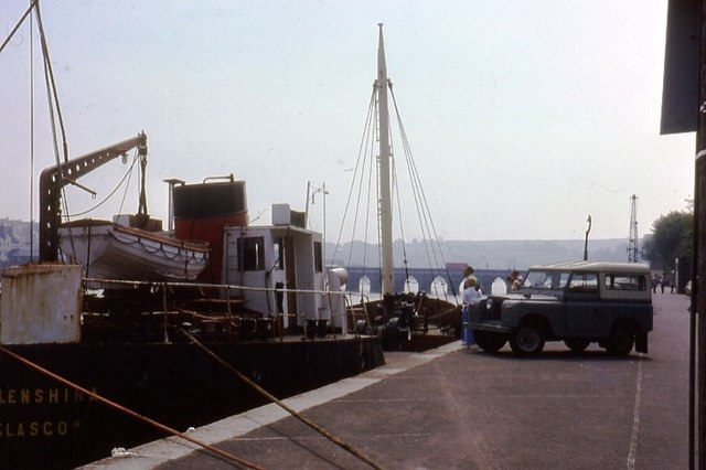 The Quay, Bideford, 1975