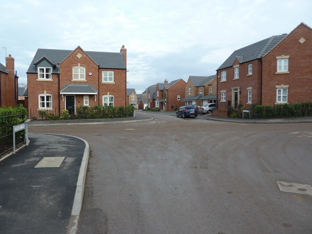 New housing off King's Road