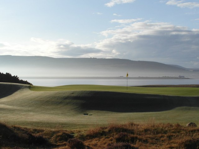 Carnegie Golf Course and the Dornoch Firth