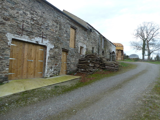 Stone Barn near Lower Tullyally
