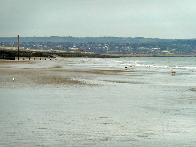 Beach north of Dymchurch
