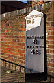 TL1507 : Milepost, Hatfield Road by Ian Capper