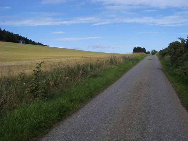 lane heading up to Straitbraes