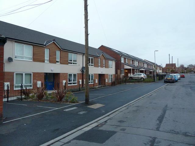 New houses on Atlas Street, Ashton-Under-Lyne