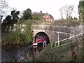 SK3409 : Working Narrow Boat Hadar  Entering Snarestone Tunnel by Maffi