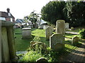 TQ4110 : All Saints', Lewes: churchyard (II) by Basher Eyre