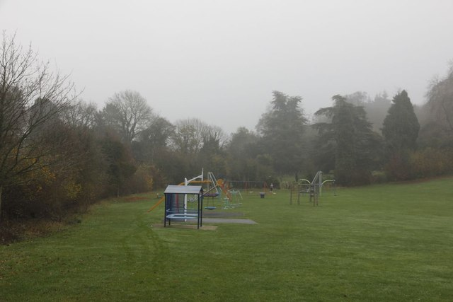 Playground down the hill