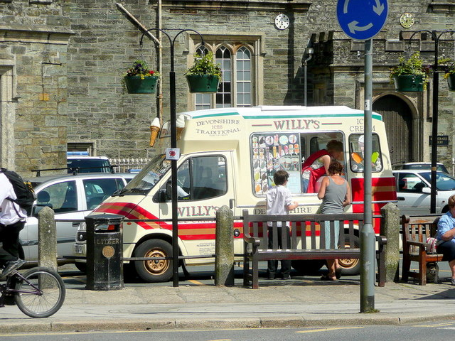 Ice-cream van; Tavistock