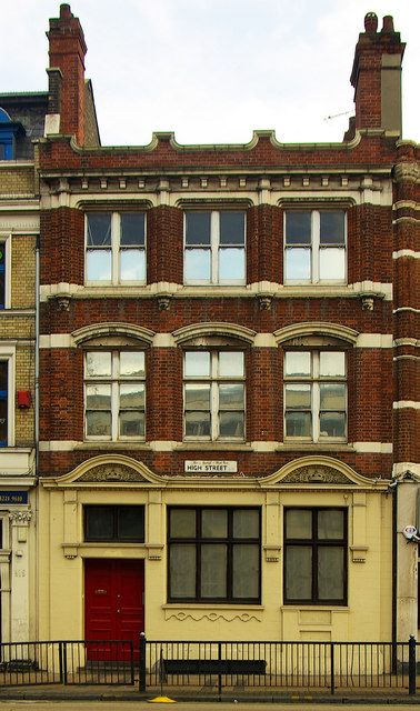 Former post office, High Street, Stratford, London E15 (1897)