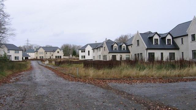 Achnagairn abandoned houses