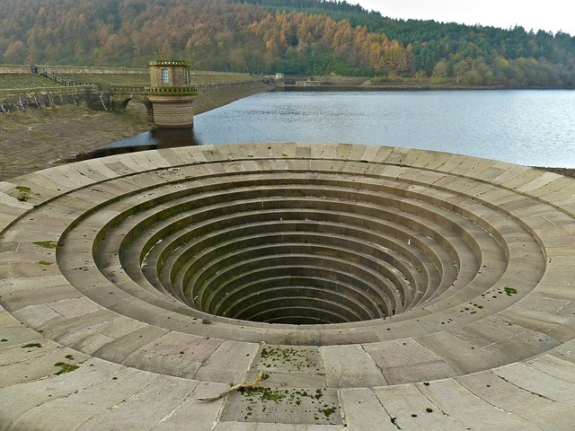 The Spillway, Ladybower Reservoir