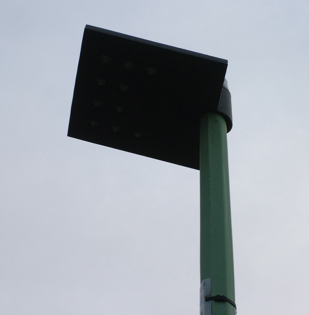 LED streetlight, or pathlight in this case
