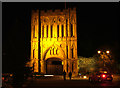 TL8564 : Abbey Gate by night by John Goldsmith