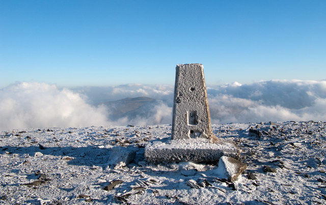 Summit area of Skiddaw