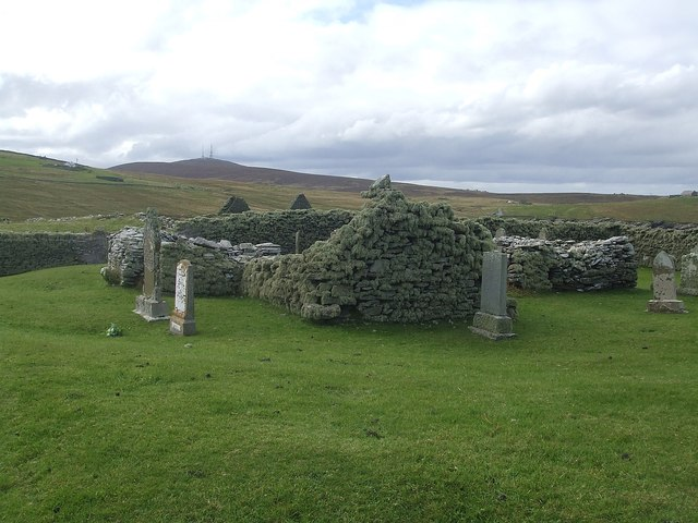 Ruins of St Mary's church, Cullingsburgh