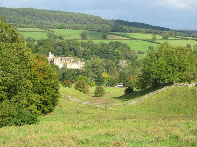 Small valley off Haddon Fields