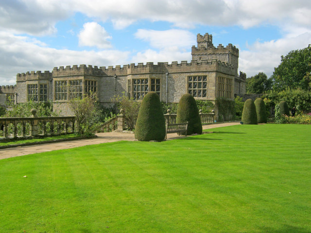 Lawn at Haddon Hall