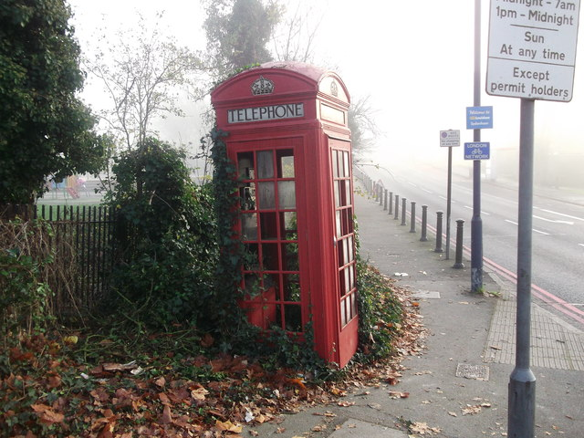 K2 Telephone kiosk on Sydenham Hill