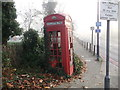 TQ3473 : K2 Telephone kiosk on Sydenham Hill by David Anstiss