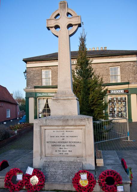 Botesdale War Memorial
