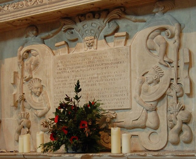 Harman Tomb, Burford church