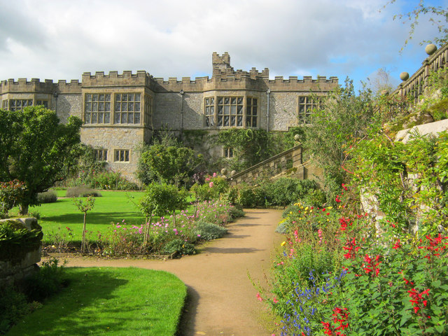 Garden at Haddon Hall - 1