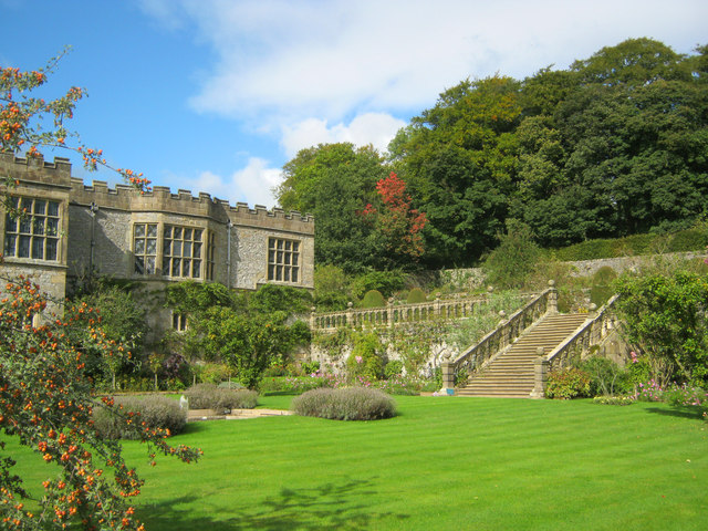 Garden at Haddon Hall - 2