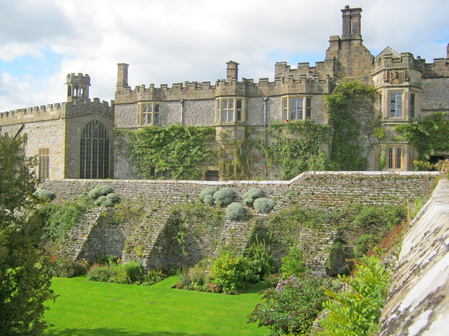 Garden at Haddon Hall - 3