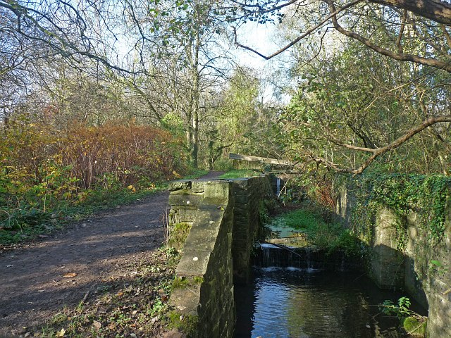 Lock on the Glamorganshire Canal