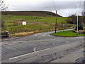 SD9801 : Castle Lane, Micklehurst by David Dixon