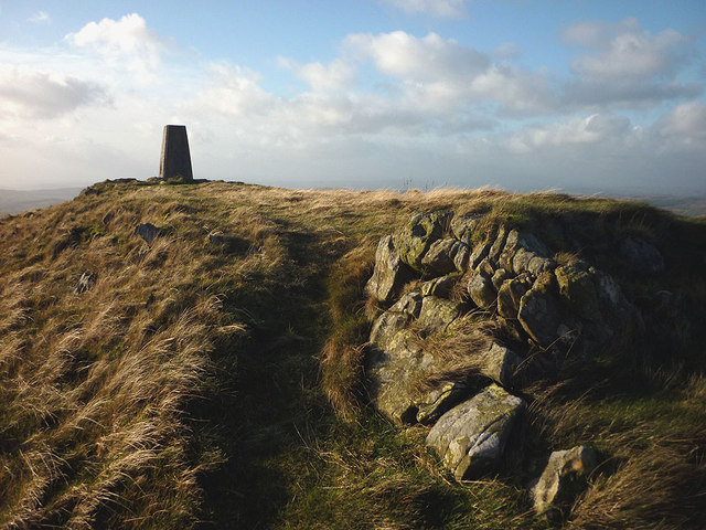 The top of Casterton Fell