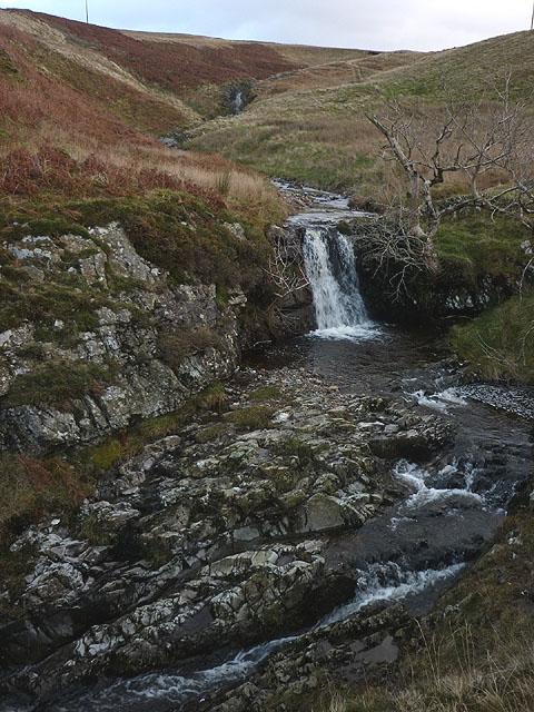 Small waterfall on Aygill Beck