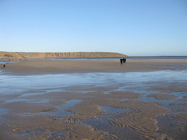 Ebb tide, Filey