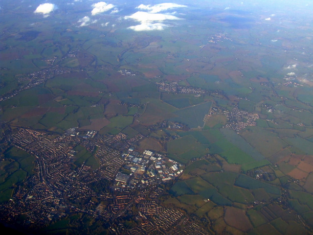 Sudbury from the air