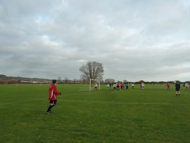 Saturday afternoon football at Farlington (b)