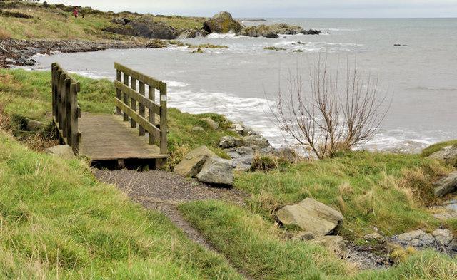 Footbridge near Donaghadee