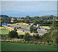 NY4542 : M6 Motorway by Peter McDermott