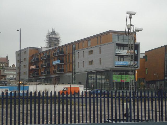 New flats, Wakefield