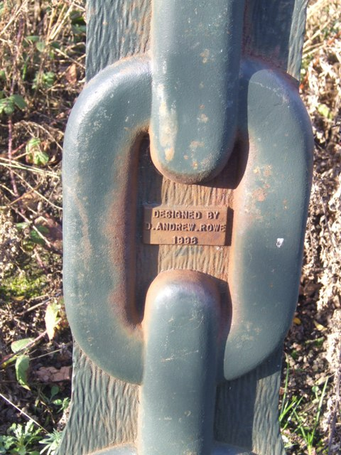 Detail on a Millennium Milepost