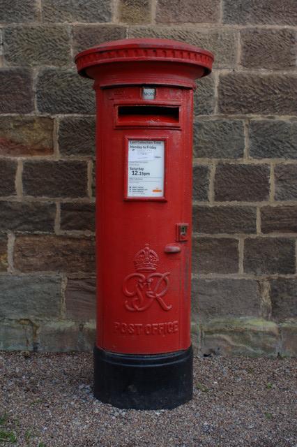 George VI Postbox, Ripley