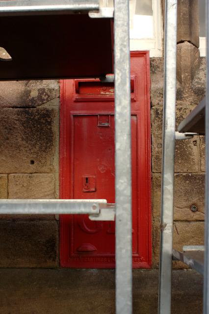 Disused George V Postbox, Ripley