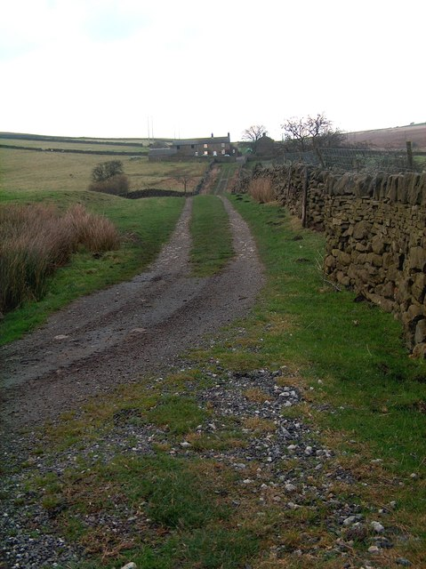 Track to Moscar House