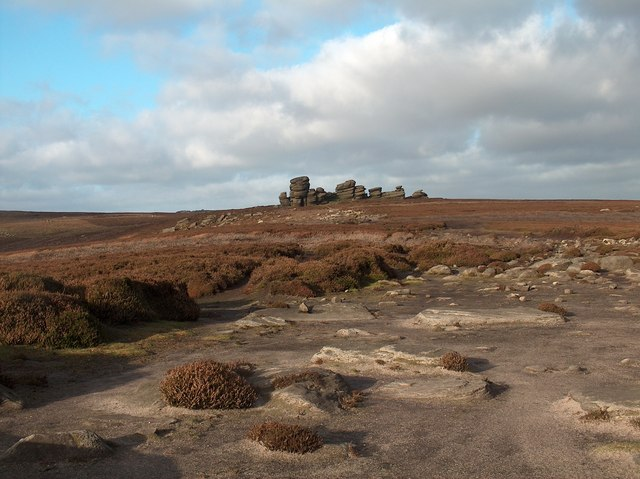 Moonscape - Wheel Stones on Derwent Moors
