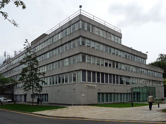 Wilberforce Building Hull University Map