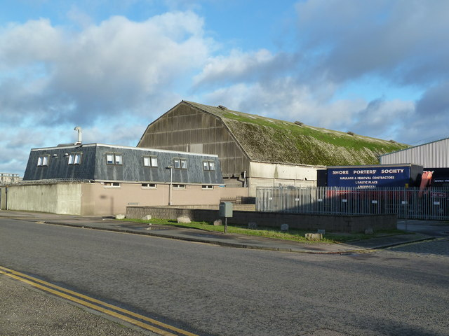 Warehouse of the Shore Porters' Society, Baltic Place, Aberdeen