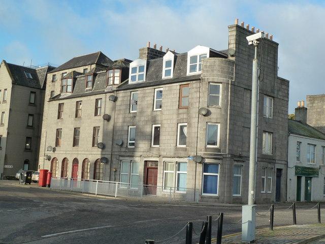 Granite block, Regent Quay, Aberdeen