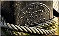 J3474 : Creighton mooring post, Belfast (2) by Albert Bridge